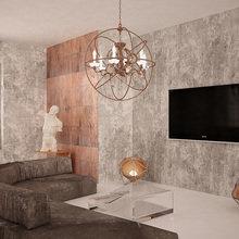Фотография: Гостиная в стиле Современный, Эклектика – фото на InMyRoom.ru