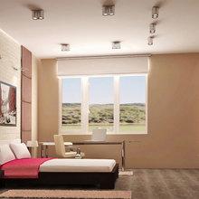 Фото из портфолио Спальни в одном доме – фотографии дизайна интерьеров на INMYROOM