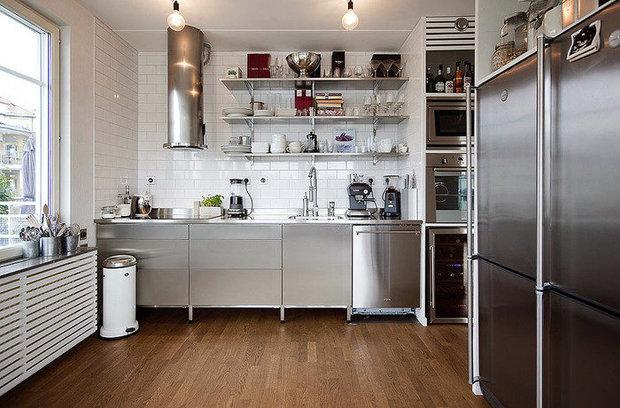 Фотография: Кухня и столовая в стиле Лофт, Хай-тек, Декор интерьера, Интерьер комнат – фото на InMyRoom.ru