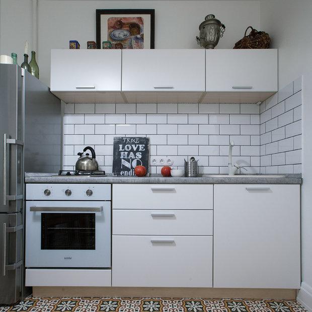 Фотография: Кухня и столовая в стиле Скандинавский, Декор интерьера, Малогабаритная квартира, Советы, ИКЕА, Мария Жучкова – фото на InMyRoom.ru