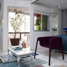 Фотография: Гостиная в стиле Эклектика, Квартира, Дома и квартиры, Бразилия – фото на InMyRoom.ru