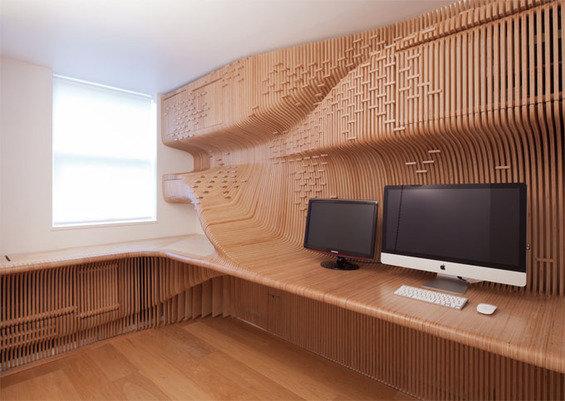 Фотография: Мебель и свет в стиле Современный, Эко, Офисное пространство, Офис, Дома и квартиры – фото на INMYROOM
