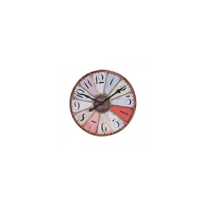 Часы METALL CLOCK MULTICOLOR