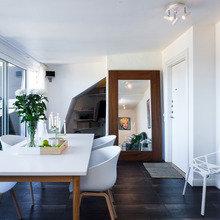 Фото из портфолио Уютная квартира мансардного типа – фотографии дизайна интерьеров на InMyRoom.ru