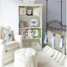 Фотография: Детская в стиле Кантри, Современный, Интерьер комнат, Lowell, Часы – фото на InMyRoom.ru