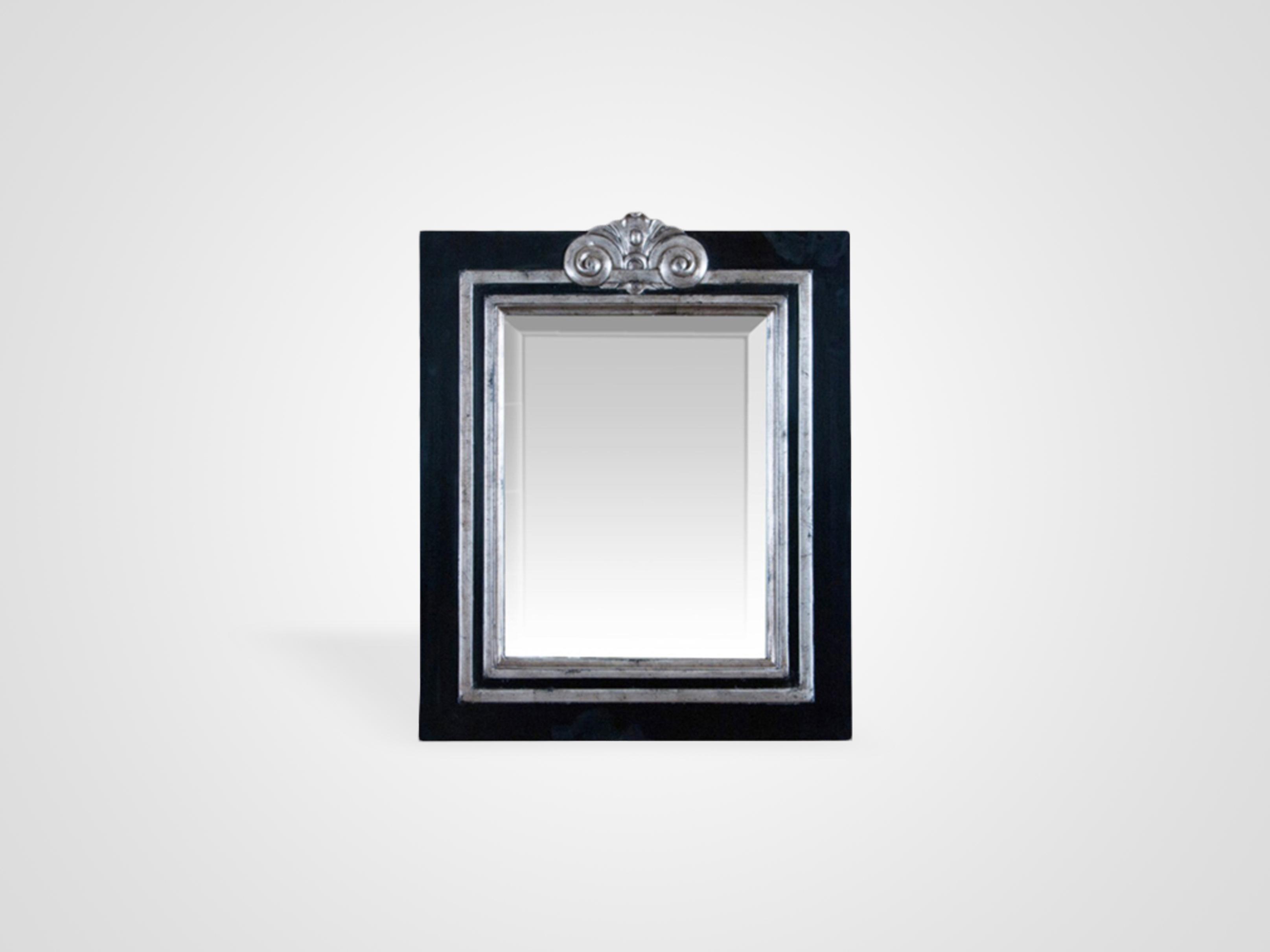 Купить Зеркало в черной раме из дерева махагони, inmyroom, Индонезия