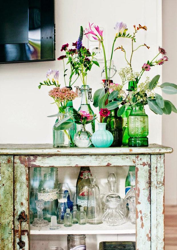 Фотография: Декор в стиле Прованс и Кантри, Декор интерьера, Советы, стекло в интерьере, пластик в интерьере, интерьерный тренд, тенденция – фото на InMyRoom.ru