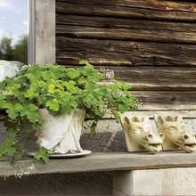 Фотография: Декор в стиле Кантри, Дом, Дома и квартиры, Большие окна, Дом на природе – фото на InMyRoom.ru
