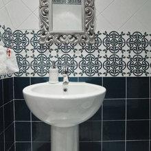 Фотография: Ванная в стиле Кантри, Современный, Декор интерьера, Дом, Проект недели – фото на InMyRoom.ru