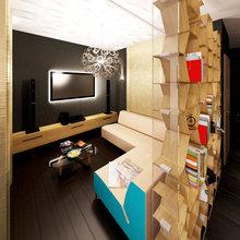 Фото из портфолио Трехкомнатная квартира в жилом комплексе «Богородский» в Москве. – фотографии дизайна интерьеров на InMyRoom.ru