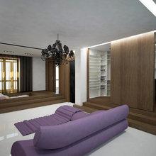 Фото из портфолио Однокомнатная квартира-трансформер – фотографии дизайна интерьеров на InMyRoom.ru