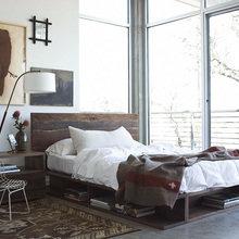Фотография: Спальня в стиле Кантри, Современный, Детская, Интерьер комнат, Шкаф, Шебби-шик, Стеллаж, Стрит-арт – фото на InMyRoom.ru