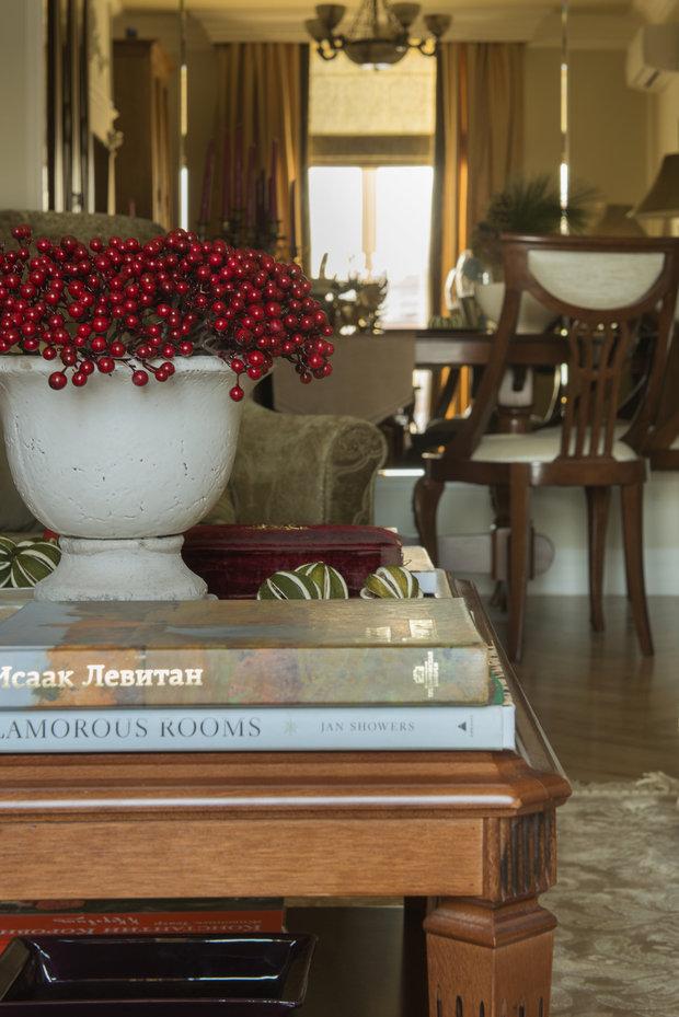 Фотография: Декор в стиле Классический, Квартира, Проект недели, Москва, Кирпичный дом, 3 комнаты, 60-90 метров, Анна Васильева, Couture Interiors – фото на InMyRoom.ru