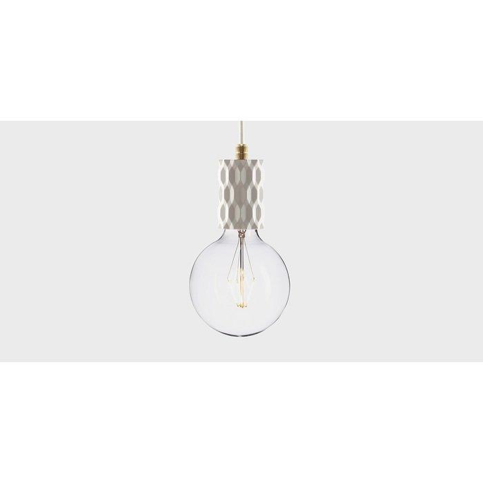 Подвесной светильник из бетона Beton Glitter white