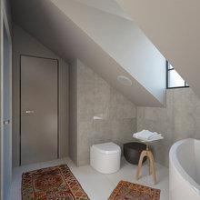 Фото из портфолио Таунхаус во французском поселке  – фотографии дизайна интерьеров на INMYROOM