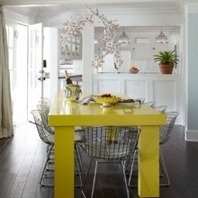 Фотография: Кухня и столовая в стиле Эклектика, Стиль жизни, Советы, Стол – фото на InMyRoom.ru