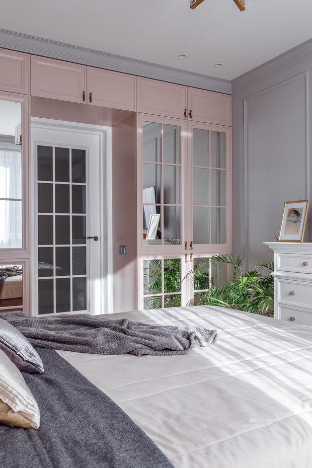 Фотография: Спальня в стиле Классический, Квартира, Проект недели, Краснодар, 2 комнаты, 60-90 метров, Алиса Свистунова – фото на INMYROOM