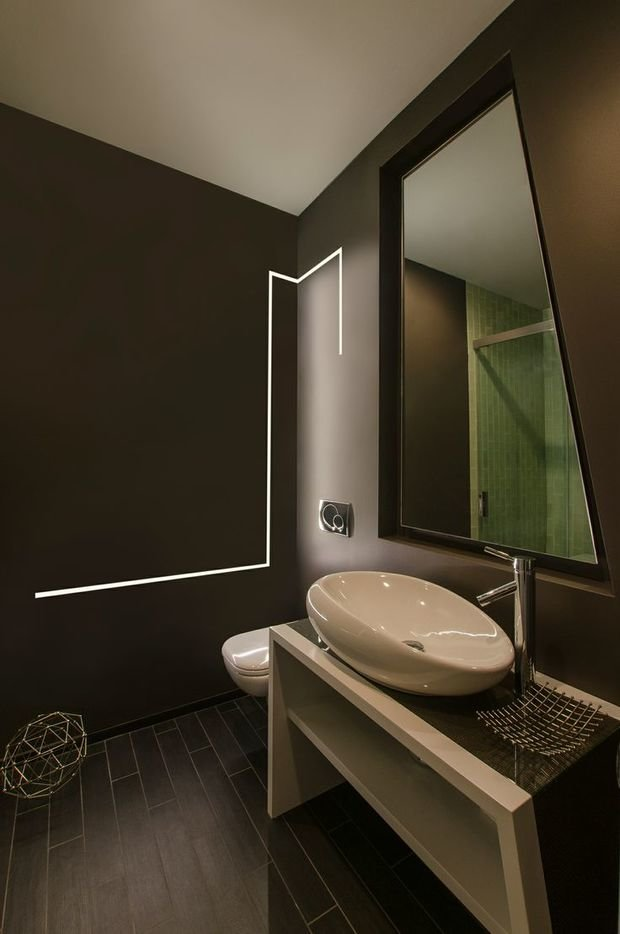 Фотография: Ванная в стиле Современный, Декор интерьера, Декор, Мебель и свет, освещение – фото на InMyRoom.ru