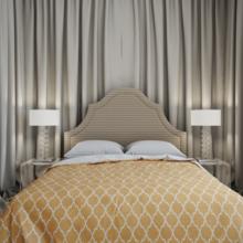 Фотография: Спальня в стиле Кантри, Современный, Квартира, Проект недели – фото на InMyRoom.ru