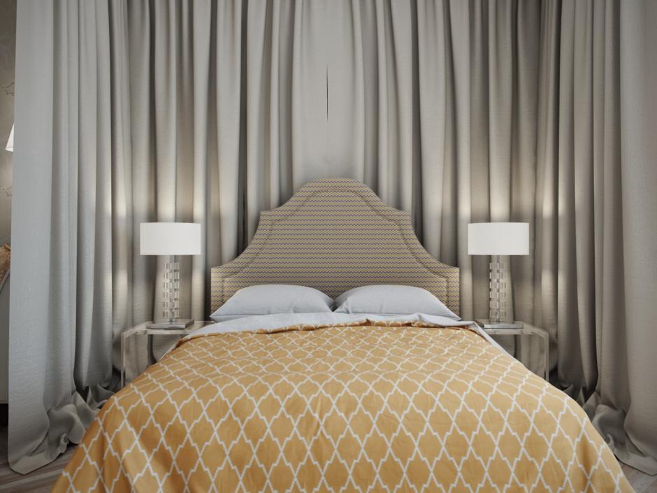 Фотография: Спальня в стиле Прованс и Кантри, Современный, Квартира, Проект недели – фото на InMyRoom.ru
