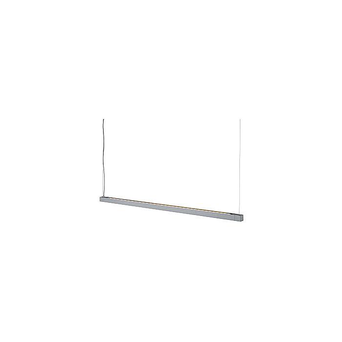 Светильник подвесной с ЭПРА Open Grill Single серебристый