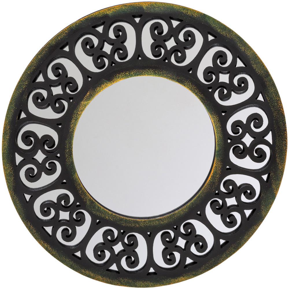 Купить Настенное зеркало бомбей с кружевным узором рамы, inmyroom, Россия