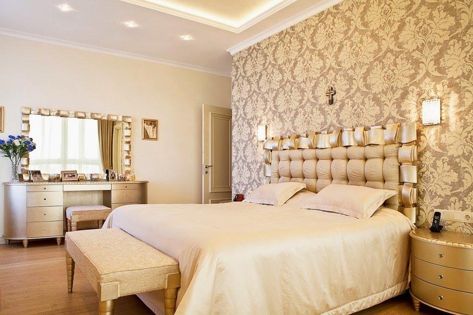 Фотография: Спальня в стиле Классический, Квартира, Дома и квартиры, Проект недели – фото на InMyRoom.ru