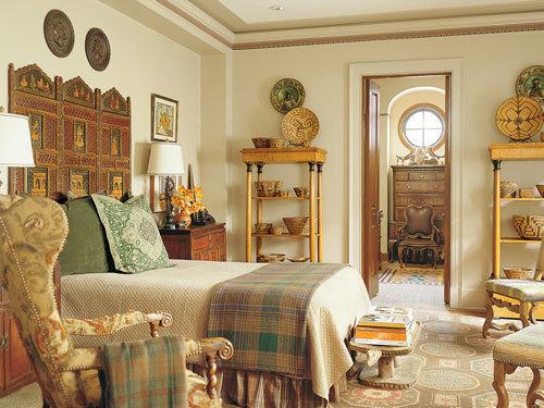 Фотография: Спальня в стиле , Классический, Дизайн интерьера, Викторианский, Ампир – фото на InMyRoom.ru