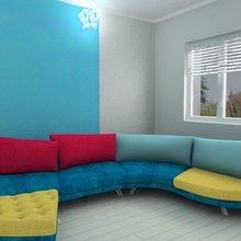 Фото из портфолио Наши проекты.Форма это главное – фотографии дизайна интерьеров на InMyRoom.ru