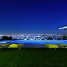 Фотография: Ландшафт в стиле Современный, Дом, Дома и квартиры, Интерьеры звезд – фото на InMyRoom.ru