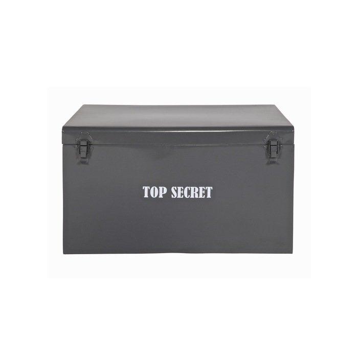 "Ящик-бокс ""METAL STORAGE BOX TOP SECRET"""