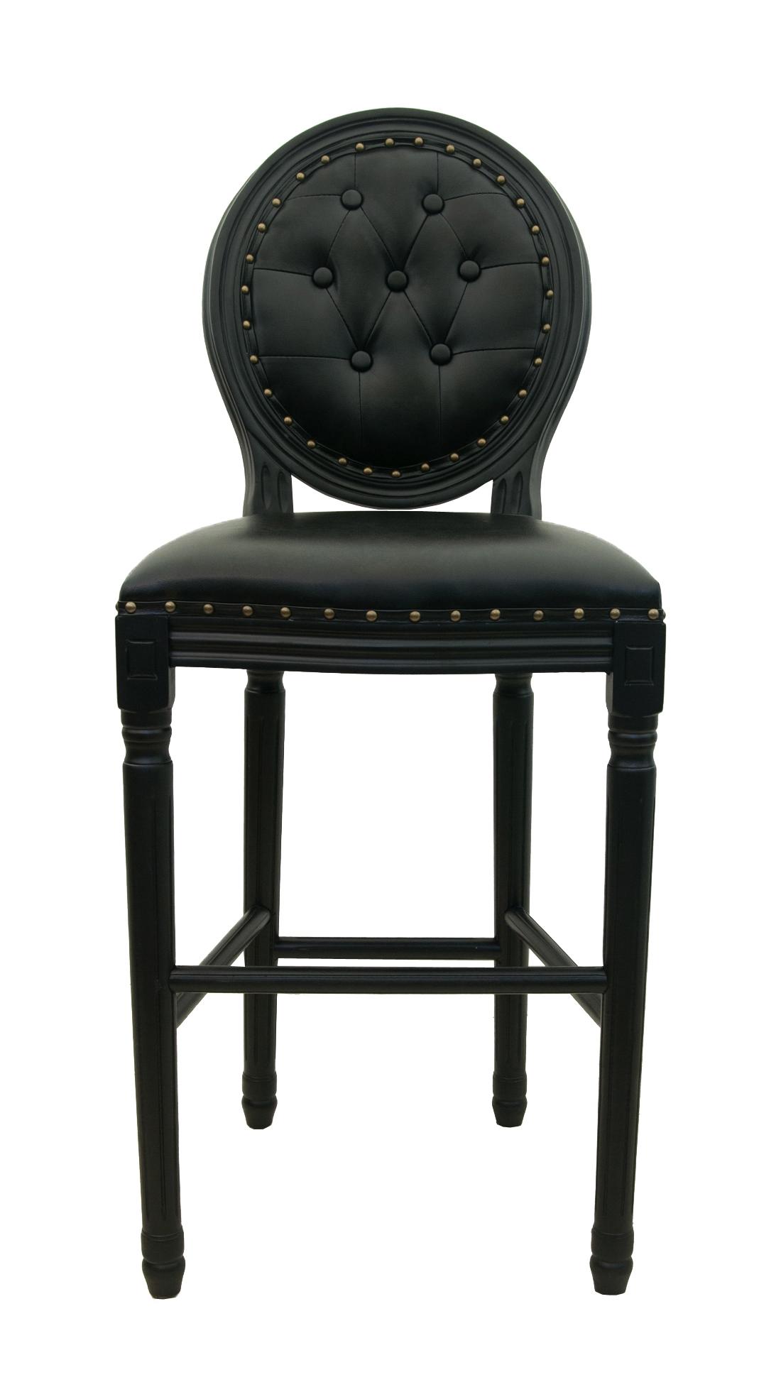 Фото #1: Барный стул Filon Button Black