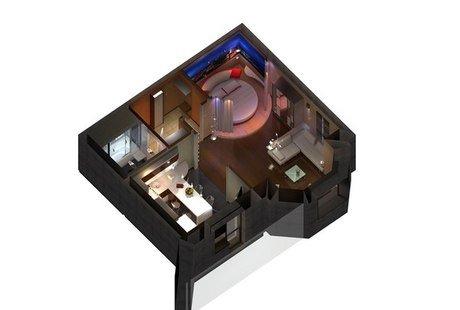 Квартира для одинокой взрослой женщины