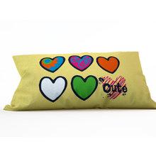 Подушка для детской: Милые сердечки