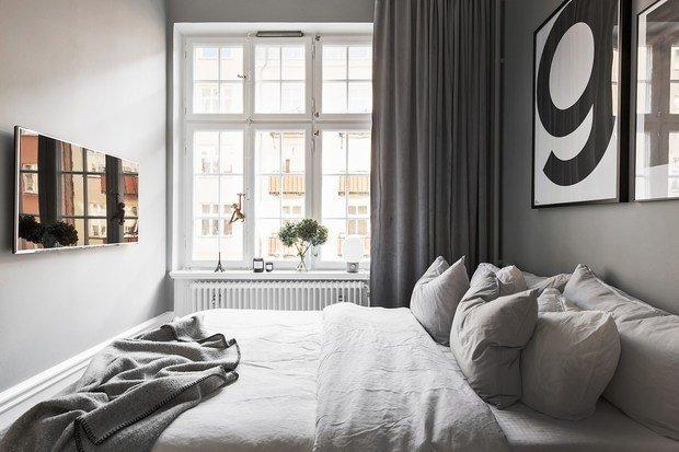 Фотография: Спальня в стиле Скандинавский, Декор интерьера, Советы, Дорого и бюджетно – фото на InMyRoom.ru