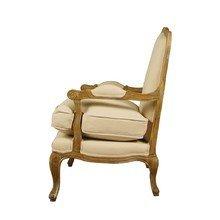 Французкое бежевое кресло для руководителя