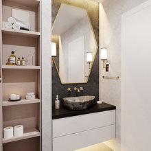 Фото из портфолио Светлая квартира на Липовой аллее. – фотографии дизайна интерьеров на INMYROOM