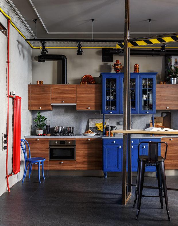 Фотография: Кухня и столовая в стиле Лофт, Проект недели, Гид, Макс Жуков, Виктор Штефан, ToTaste Studio – фото на INMYROOM