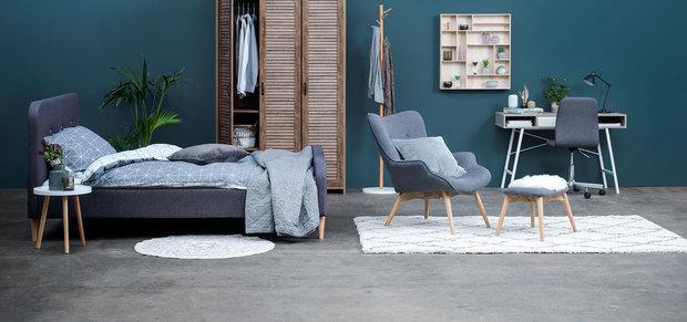 Фотография: Спальня в стиле Скандинавский – фото на INMYROOM