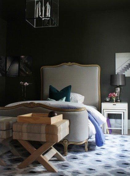 Фотография: Спальня в стиле Прованс и Кантри, Дом, Дома и квартиры, Перепланировка, Переделка – фото на InMyRoom.ru