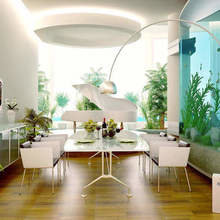 Фотография: Кухня и столовая в стиле Хай-тек, Декор интерьера, Мебель и свет, Декор дома – фото на InMyRoom.ru