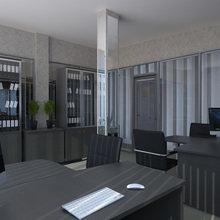 Фото из портфолио Офис лизинговой компании – фотографии дизайна интерьеров на InMyRoom.ru