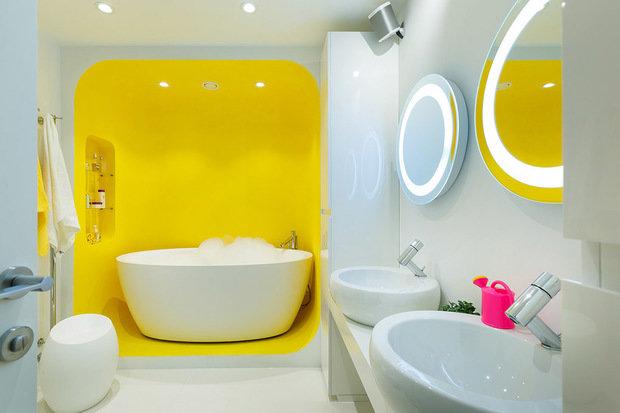 Фото из портфолио Дизайн двухуровневой квартиры. Улица Тухачевского (230 м2)  – фотографии дизайна интерьеров на INMYROOM