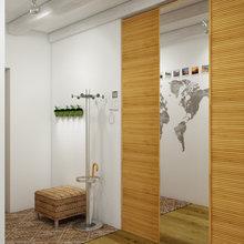 Фото из портфолио Вокруг света за 84 кв.метра – фотографии дизайна интерьеров на InMyRoom.ru
