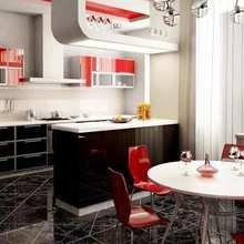 Фотография: Кухня и столовая в стиле Современный, Хай-тек, Интерьер комнат, Встраиваемая техника – фото на InMyRoom.ru
