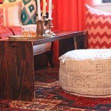 Фотография: Гостиная в стиле Кантри, Восточный, Декор интерьера, Мебель и свет – фото на InMyRoom.ru
