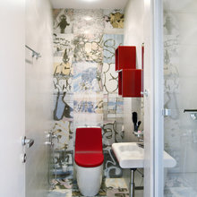 Фотография: Ванная в стиле Современный, Декор интерьера, Квартира, Massive, Дома и квартиры, 8 марта, SLV – фото на InMyRoom.ru