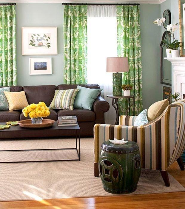 Фотография: Гостиная в стиле , Декор интерьера, Квартира, Дом, Декор, Зеленый – фото на InMyRoom.ru