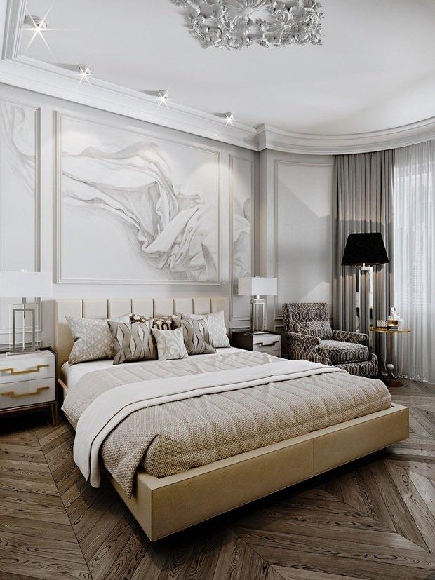 Фото из портфолио Проект квартиры в Москве для молодой пары – фотографии дизайна интерьеров на INMYROOM
