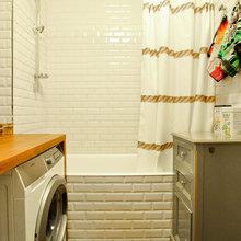 Фотография: Ванная в стиле Лофт, Скандинавский, Современный, Квартира, Проект недели – фото на InMyRoom.ru